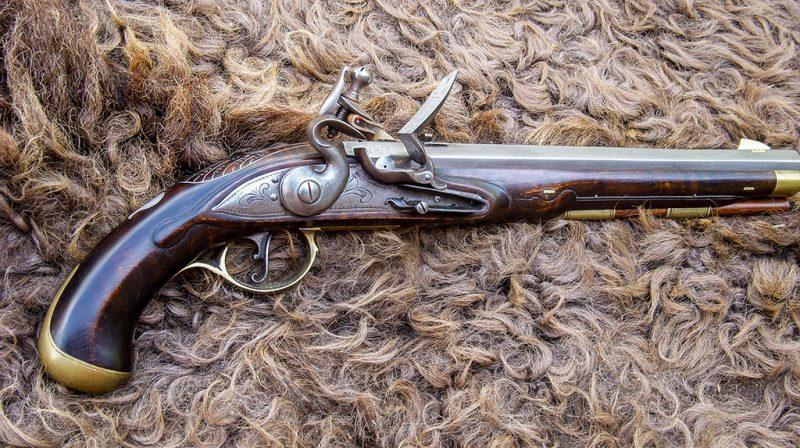 Early Virginia Style Pistol (1765-1775)