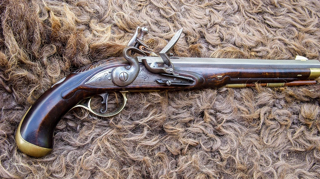 Early Virginia Style Pistol  (1765-1775)